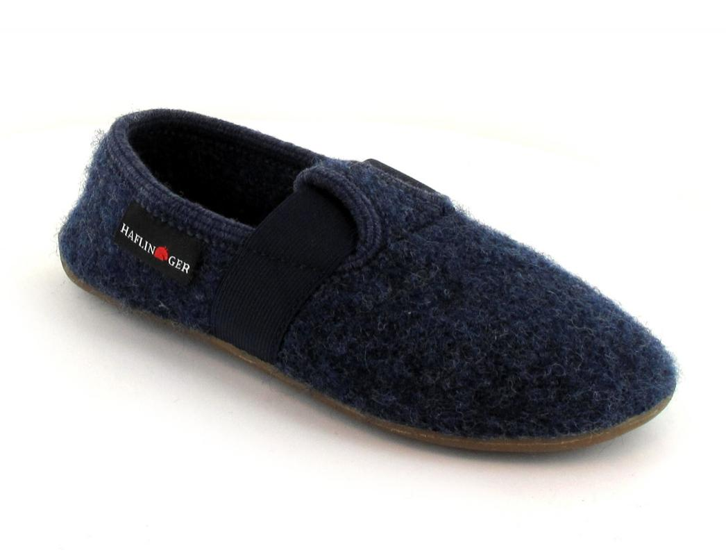 HAFLINGER Kinderslipper Everest Jonas, jeans